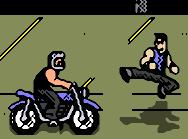 Jump-kick bikers!