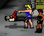 Punch women in the face!